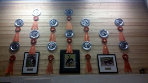 Raney Dogs AKC Masters Wall